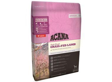 Acana Singles All Breeds Grass-Fed Lamb сухой беззерновой корм для собак всех пород с чувствительным пищеварением гипоаллергенный с ягненком