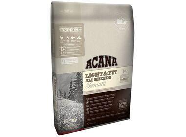 Acana Heritage Light&Fit All Breeds сухой беззерновой корм для собак всех пород с избыточным весом с домашней птицей