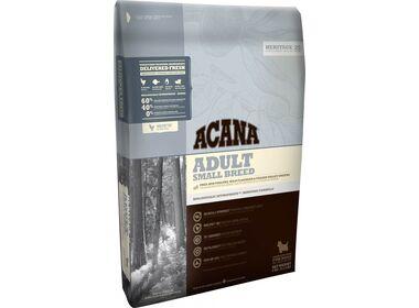 Acana Heritage Adult Small Breed сухой корм для собак мелких пород с цыпленком и камбалой