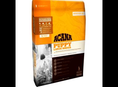 Acana Heritage Puppy Large Breed сухой корм для щенков крупных пород с домашней птицей