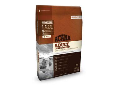Acana Heritage Adult Large Breed сухой беззерновой корм для собак крупных пород с домашней птицей